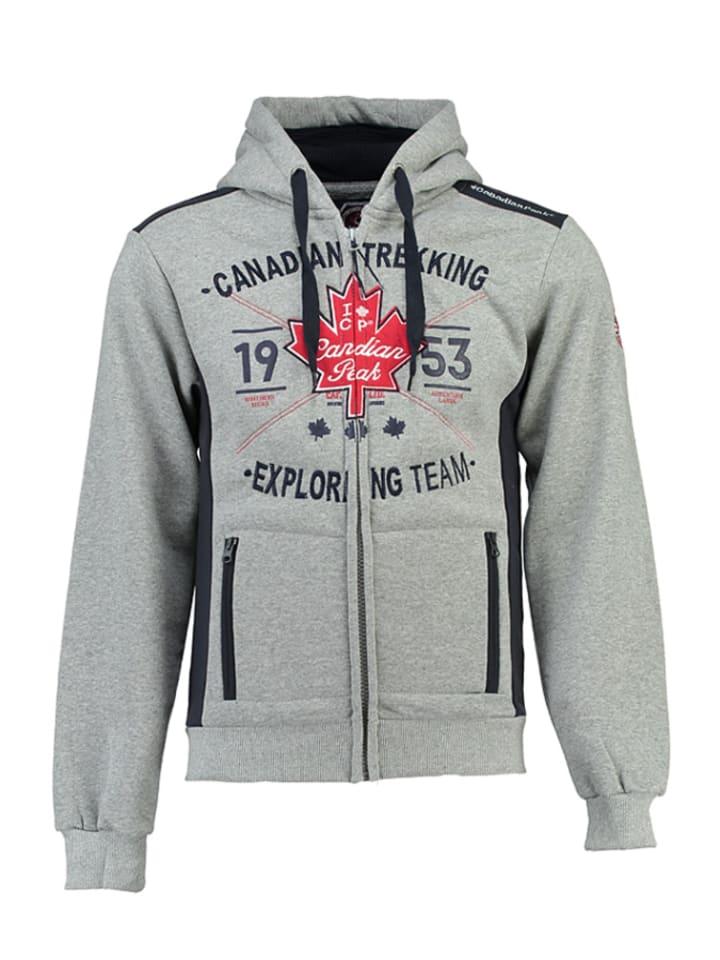 """Canadian Peak Sweatjacke """"Fuloy"""" in Grau"""