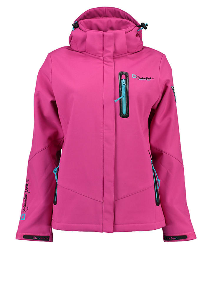 "Canadian Peak Softshelljacke ""Tailcoat Lady"" in Pink"