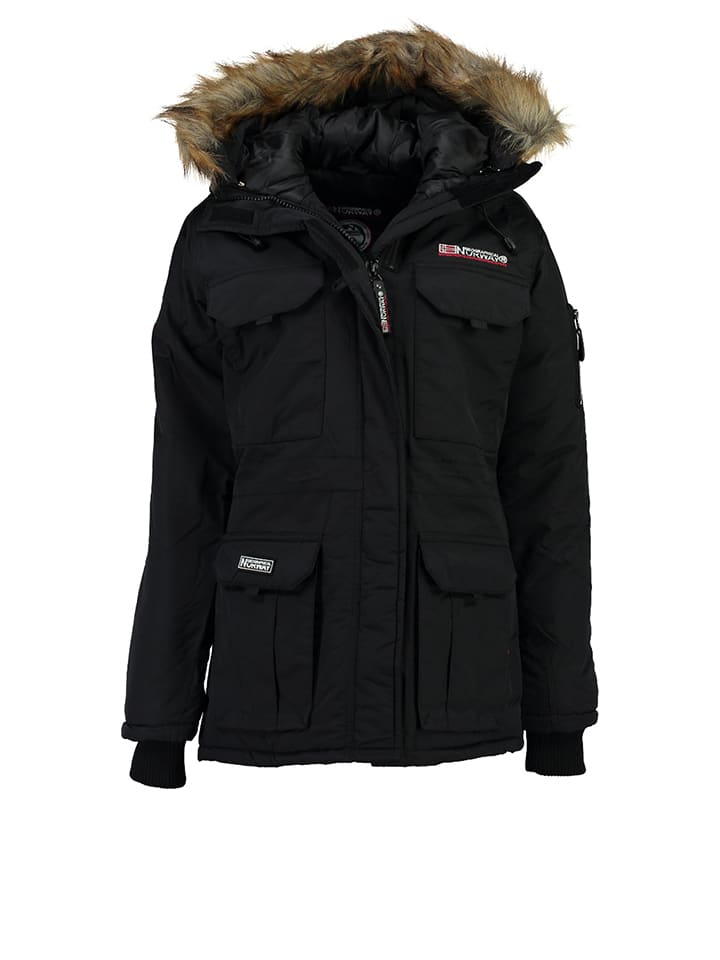 geographical norway jacke aristochat in schwarz limango outlet. Black Bedroom Furniture Sets. Home Design Ideas