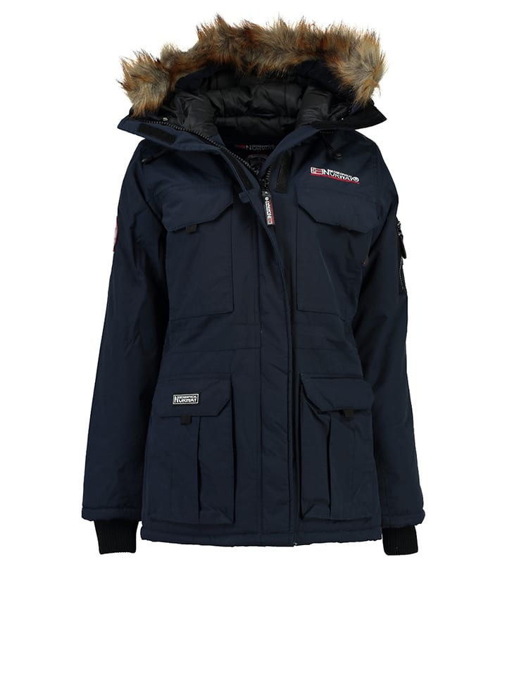 """Geographical Norway Jacke """"Aristochat"""" in Dunkelblau"""