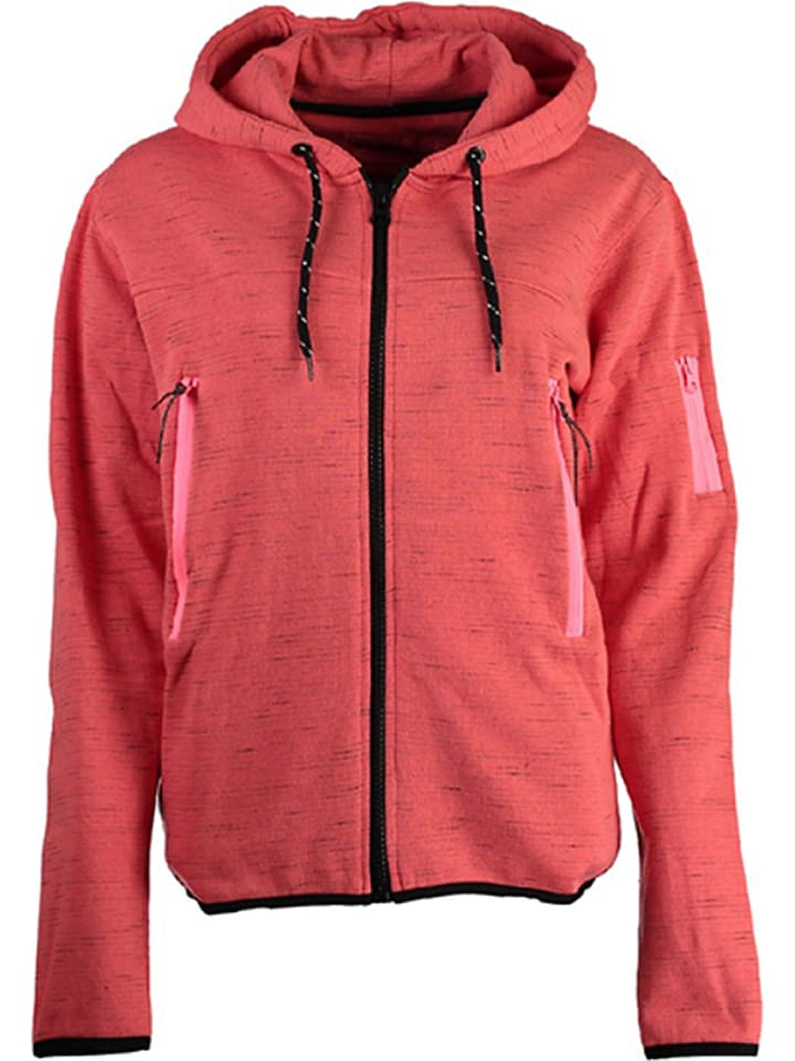 "Geographical Norway Sweatjacke ""Fashionista"" in Koralle"