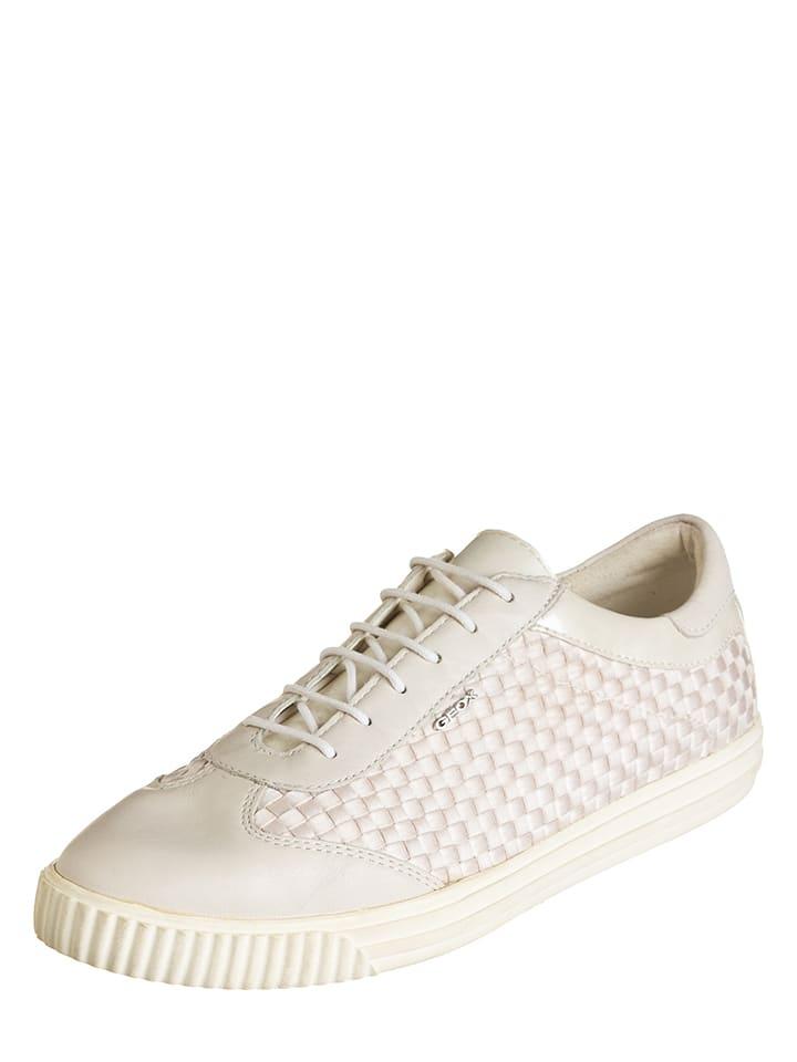 """Geox Sneakers """"Amalthia B"""" in Creme"""