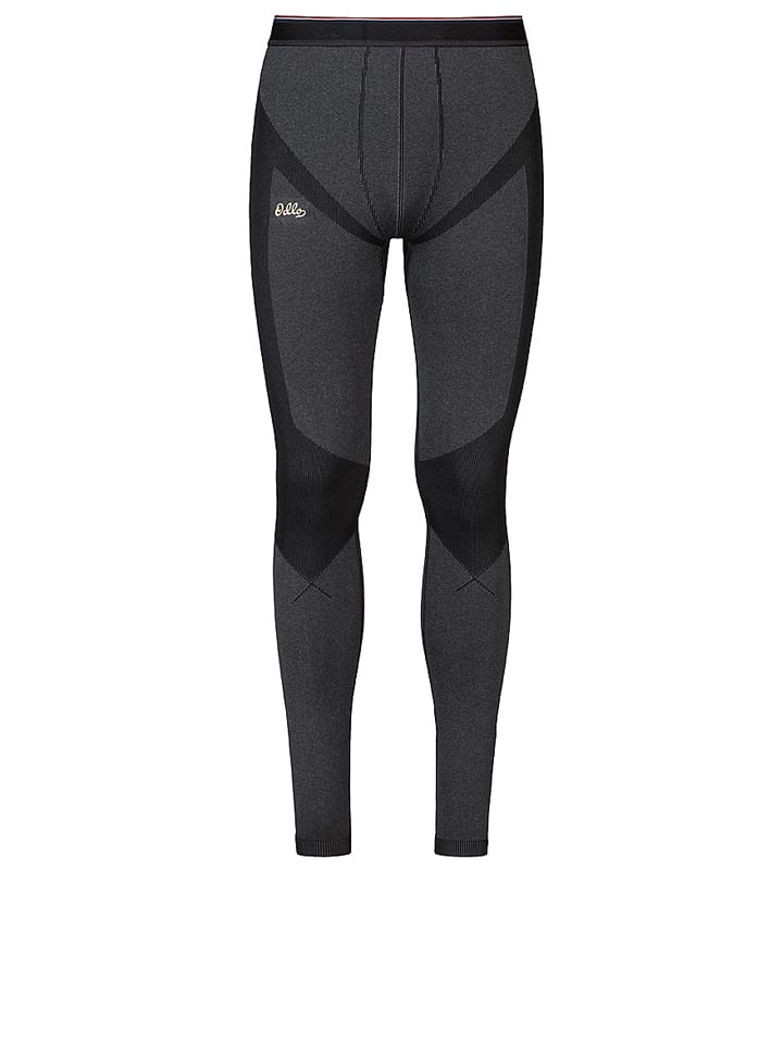 "Odlo Funktionsunterhose ""Evolution Warm"" in Dunkelgrau/ Schwarz"