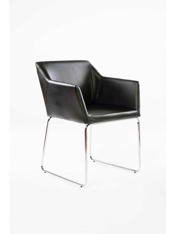 Unico Krzesło w kolorze czarnym  - (S)59 x (W)81 x (G)59 cm