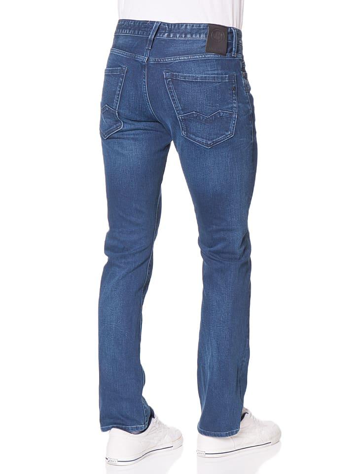 "Replay Jeans ""Waitom"" -Regular fit- in Dunkelblau"