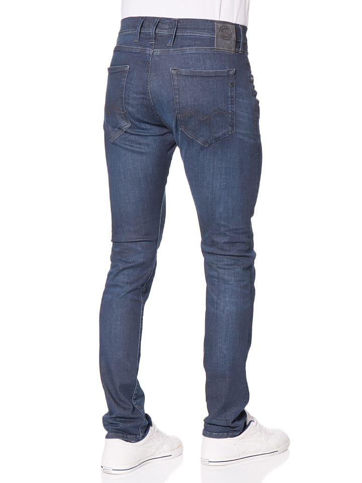 "Replay Jeans ""Ezhir"" -Low Crotch- in Dunkelblau"