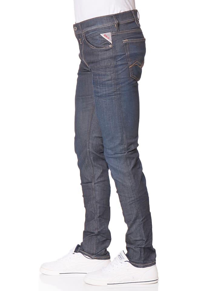 """Replay Jeans """"Jondrill"""" -Skinny fit- in Dunkelblau"""