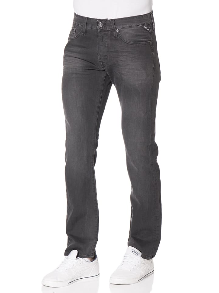 "Replay Jeans ""Newbill"" -Regular fit- in Schwarz"