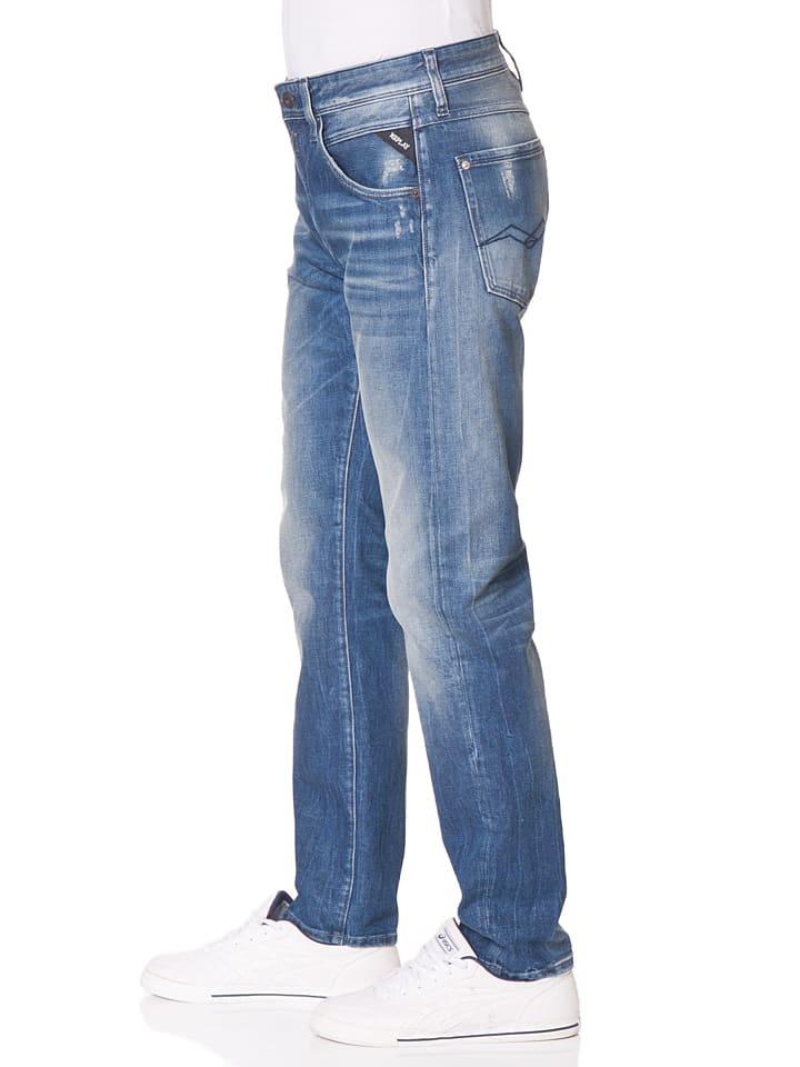 "Replay Jeans ""Numasig"" -Regular fit- in Blau"