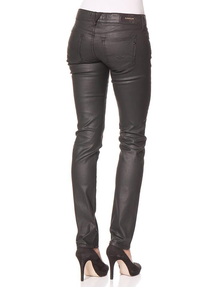 """Replay Jeans """"Brigidot"""" -Skinny fit- in Schwarz"""