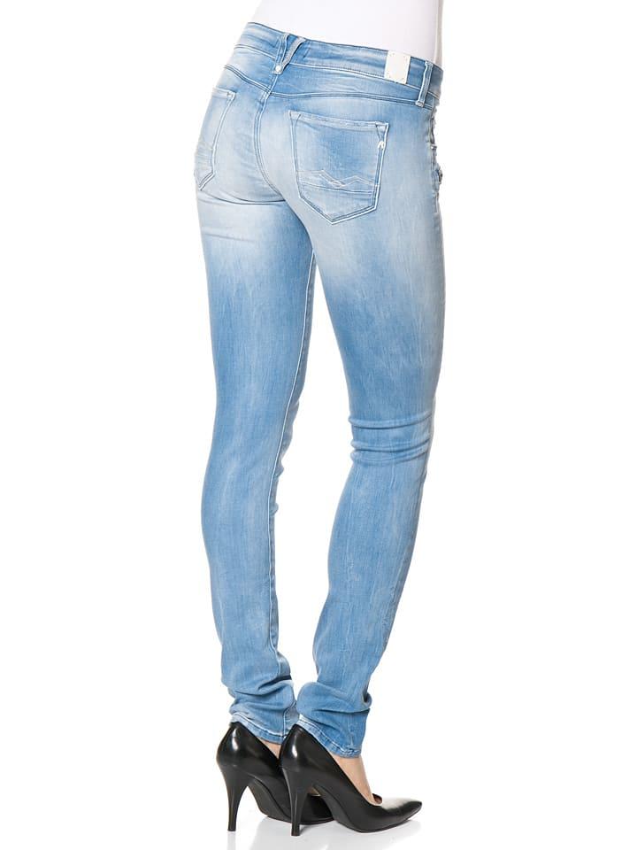 """Replay Jeans """"Brigidot"""" -Skinny fit- in Hellblau"""