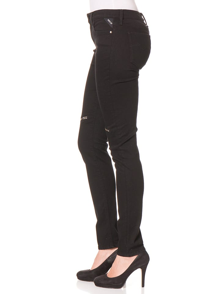 Replay Jeans -Regular fit- in Schwarz