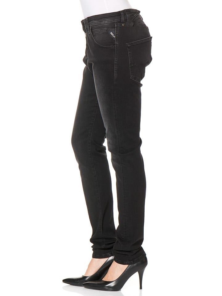 "Replay Jeans ""Pilar"" -Boy fit- in Schwarz"