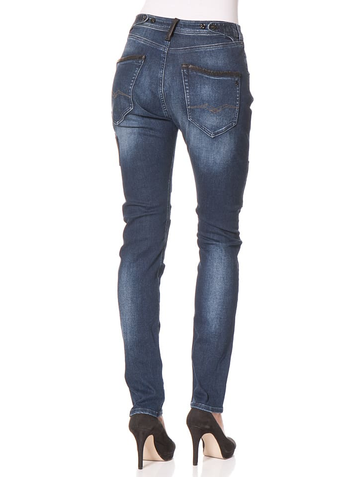 "Replay Jeans ""Pilar"" -Boy fit- in Dunkelblau"