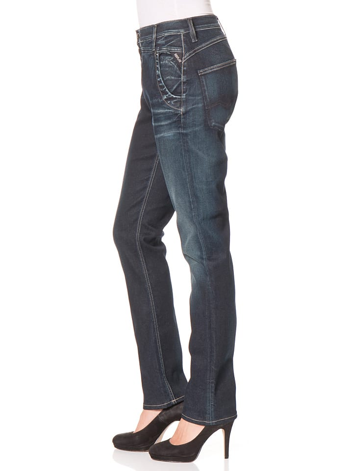 "Replay Jeans ""Denice""-Low crotch- in Dunkelblau"