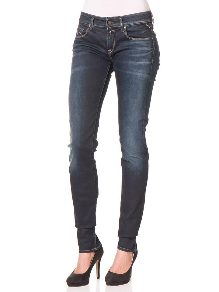 "Replay Jeans ""Rose"" -Skinny fit- in Dunkelblau"