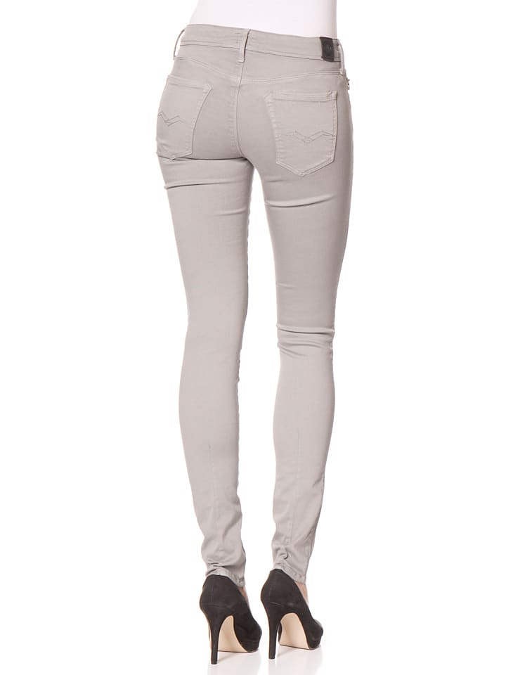 "Replay Jeans ""Yasmeen"" -Skinny fit-  in Grau"