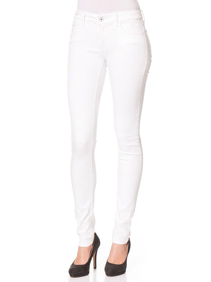 "Replay Jeans ""Luz"" -Skinny fit- in Weiß"