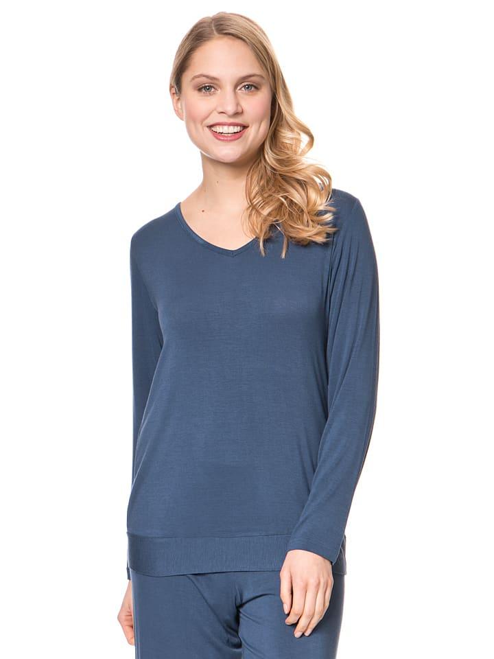 Sassa Pyjamaoberteil in Blau