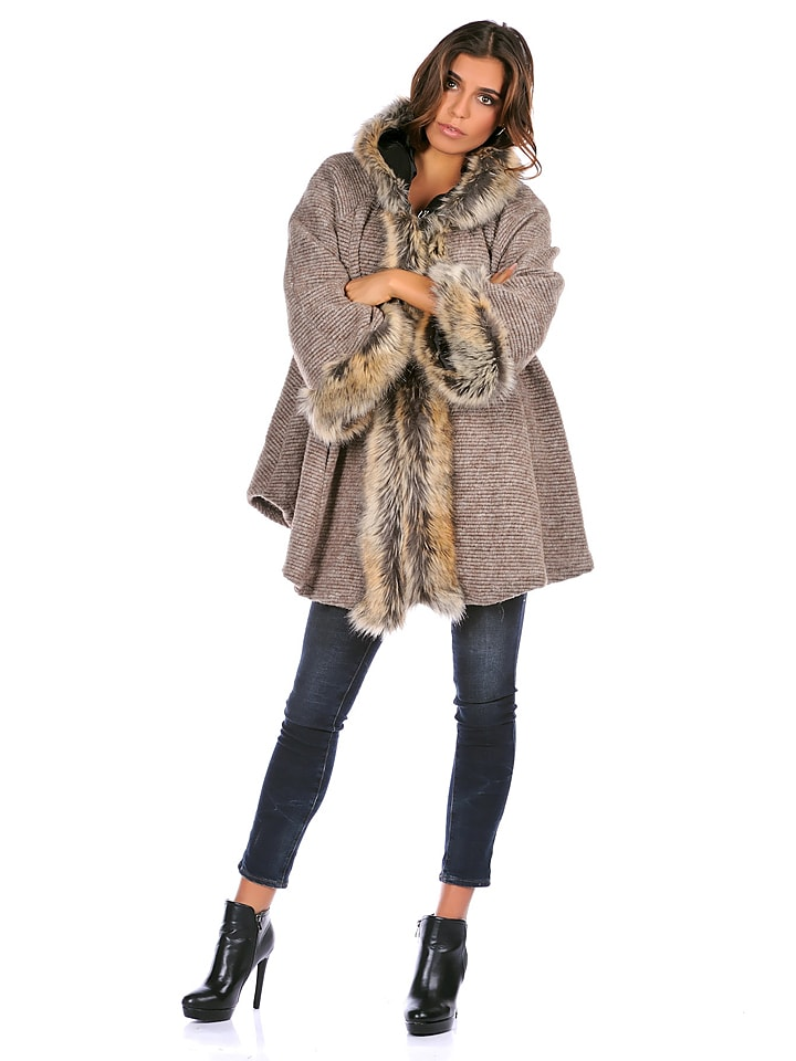 """Les Frangines Jacke """"Desir"""" in Taupe"""