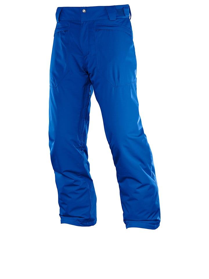 "SALOMON Ski-/ Snowboardhose ""Stormspotter"" in Blau"