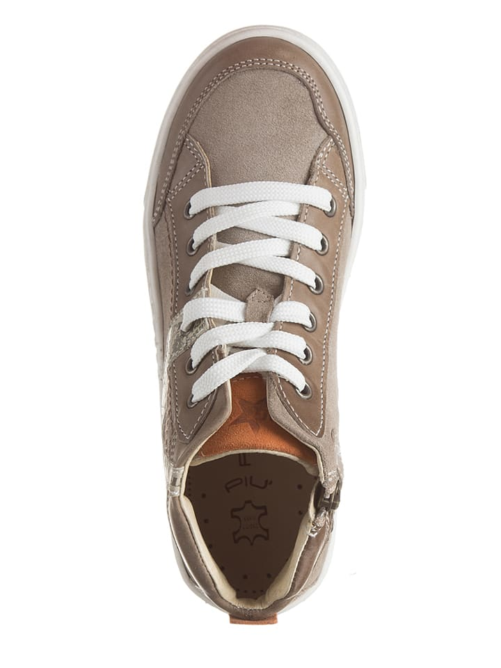 Primigi Leder-Sneakers Cody in Sand
