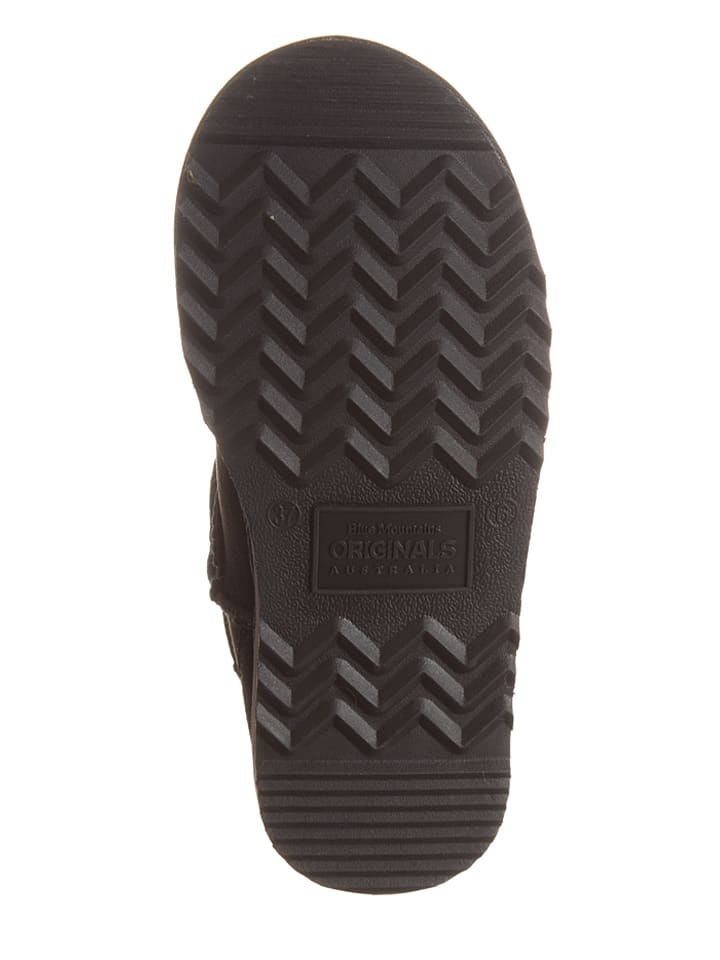 "BMO AUSTRALIA Schaffell-Boots ""Classic Surf Ultra"" in Schwarz"