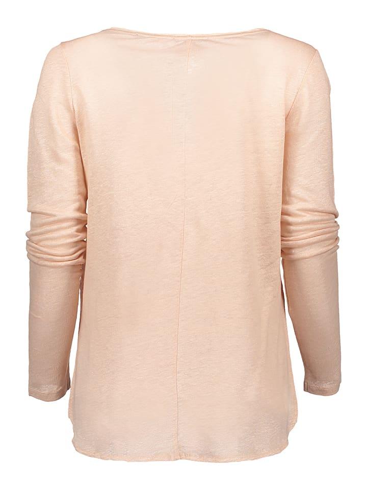 Marc O'Polo Leinen-Shirt in Rosé