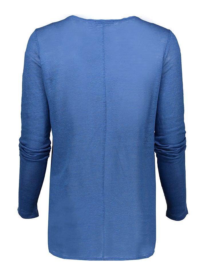 Marc O'Polo Leinen-Shirt in Blau