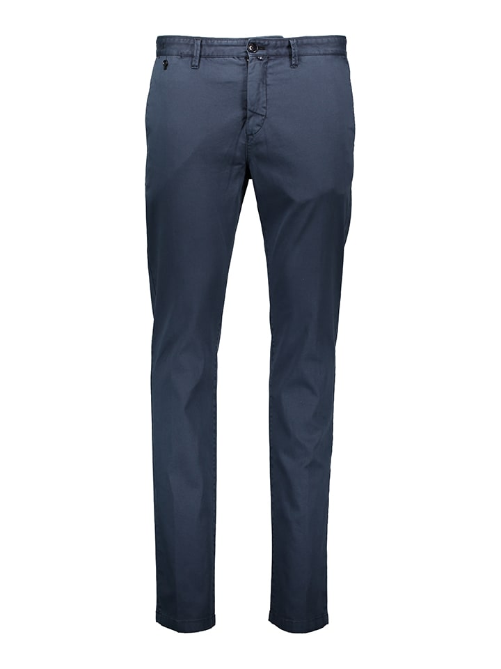 Marc O'Polo Chino - Slim fit - in Dunkelblau