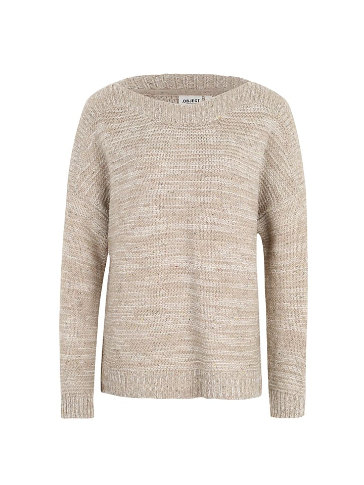 Object Pullover in Beige