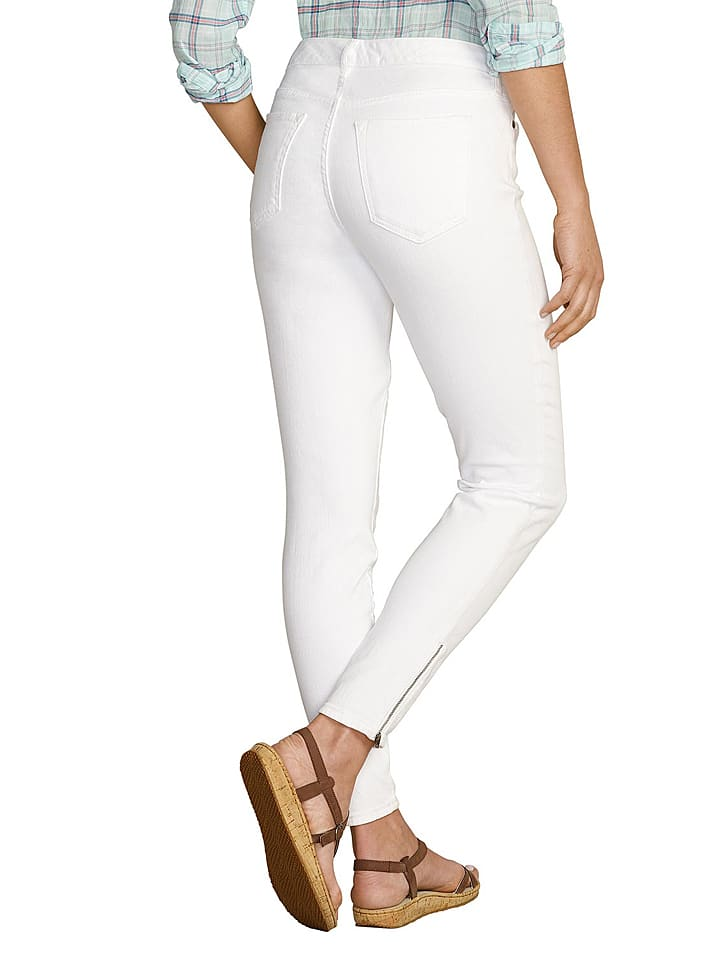 Eddie Bauer Jeans in Weiß