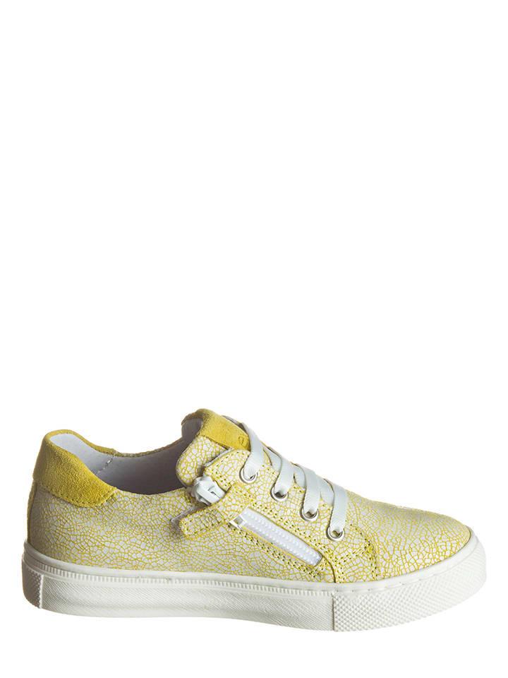 EXK Leder-Sneakers in Orange - 64% fNeqM8Vk37