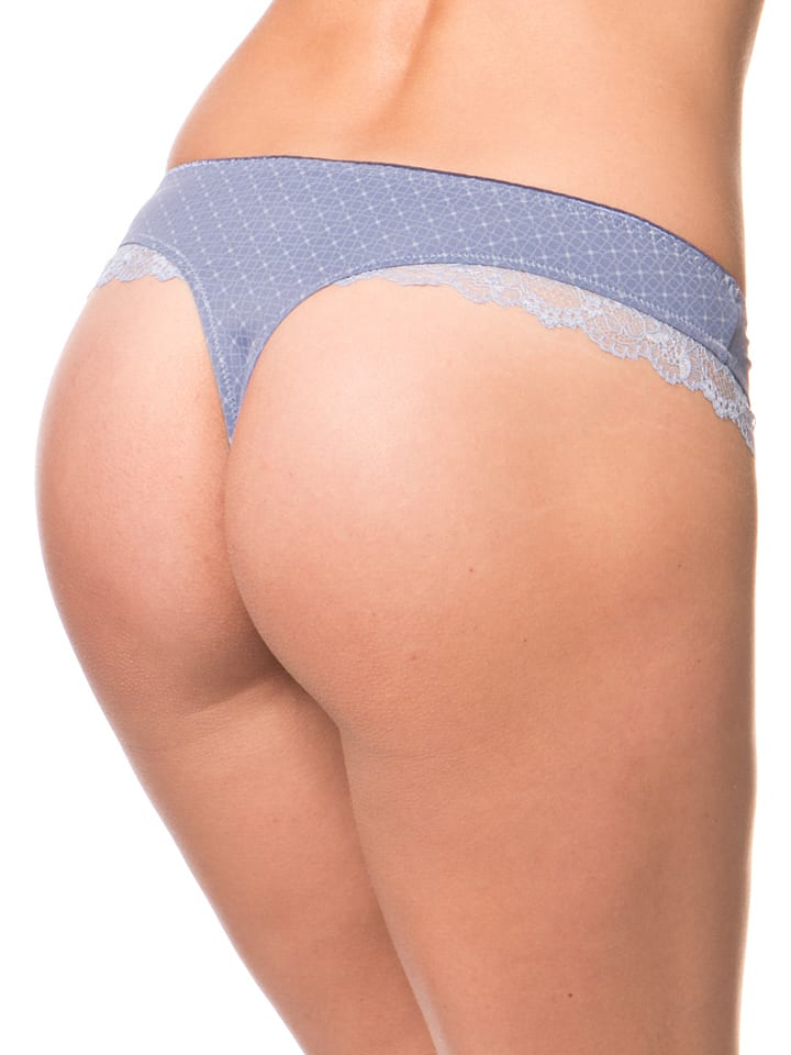 Ulla String in Blau