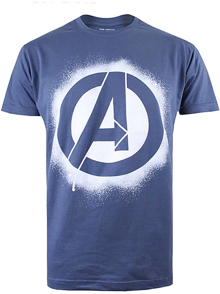 Marvel Shirt in Blau