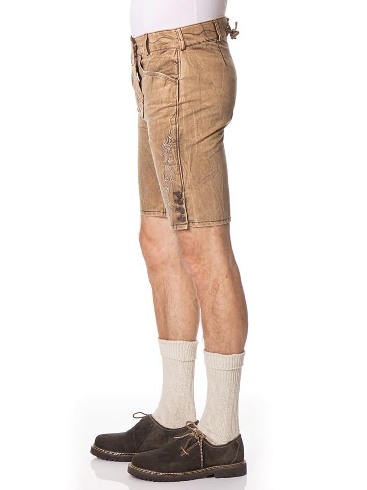 "LEKRA Shorts ""Petro"" in Hellbraun"