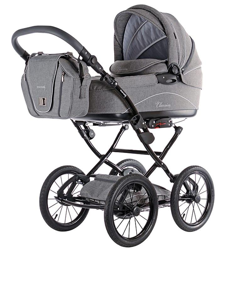 Knorr-baby Combi-kinderwagen ''Classico'' lichtgrijs