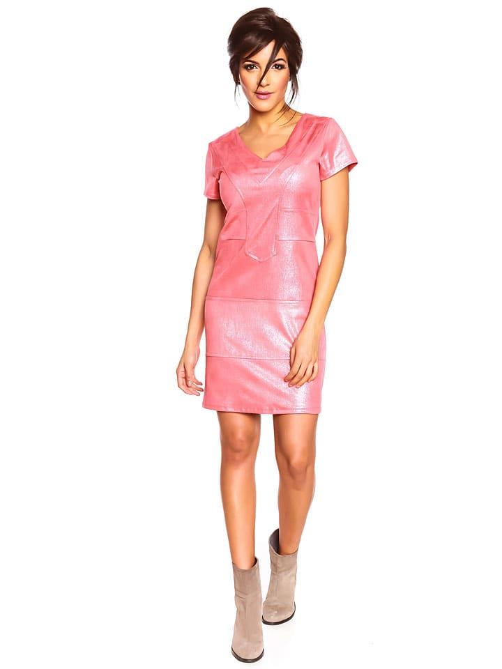 "Melrose Kleid ""Salsa"" in Koralle"
