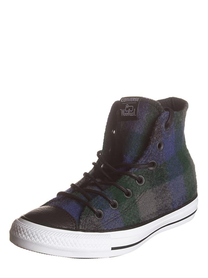 Converse Sneakers in Dunkelblau/ Grau/ Grün