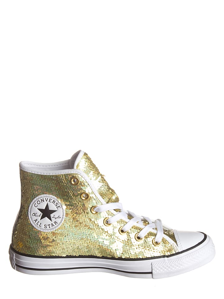Converse Sneakers in Gold