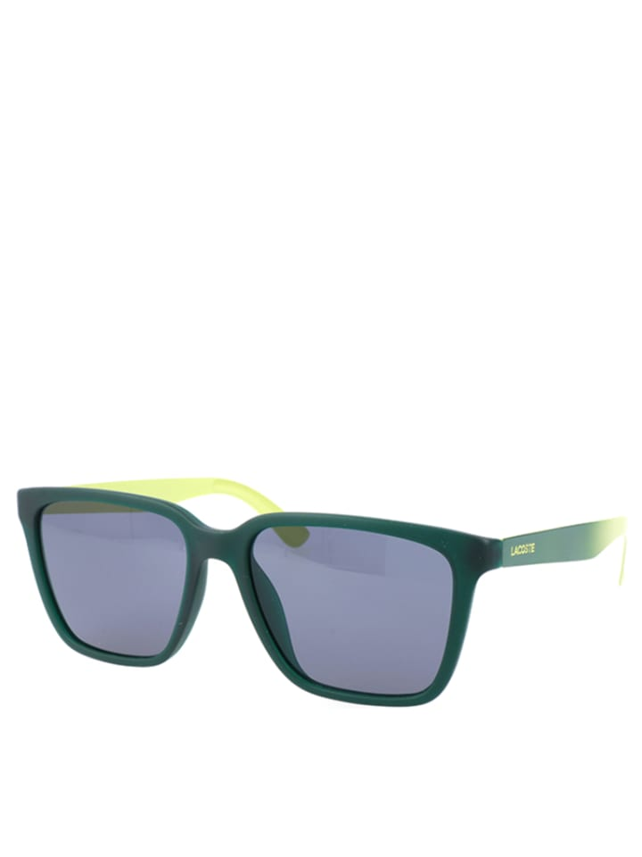 lacoste lunettes de soleil homme vert fonc outlet limango. Black Bedroom Furniture Sets. Home Design Ideas
