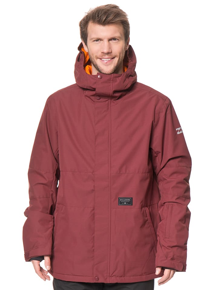 "Billabong Ski-/Snowboardjacke ""Legacy Plain"" in Rot"