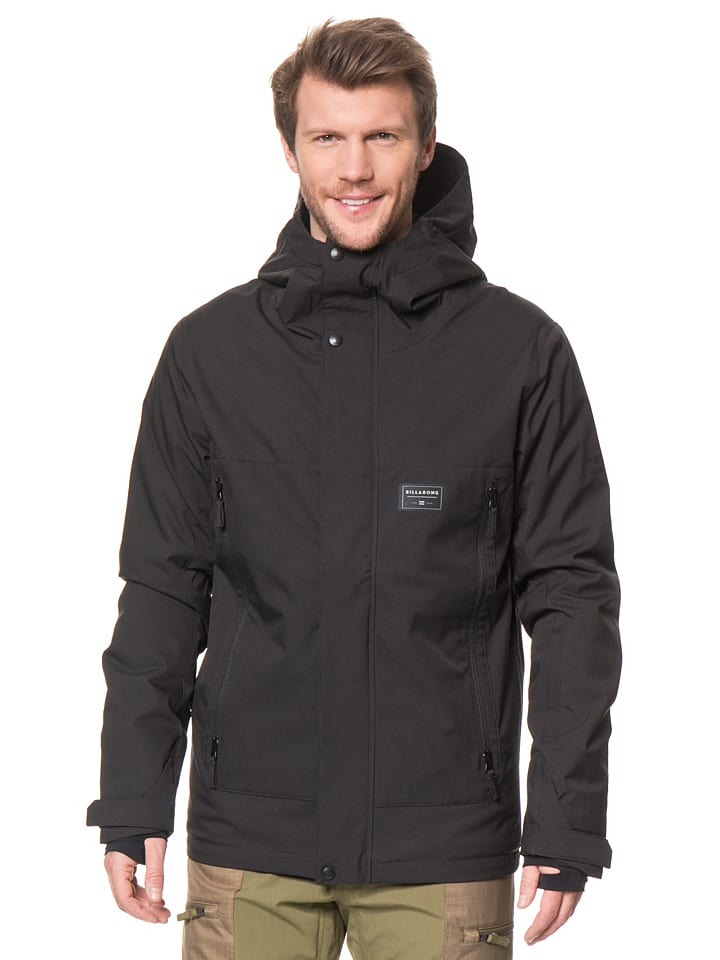 "Billabong Ski-/Snowboardjacke ""Flux"" in Schwarz"