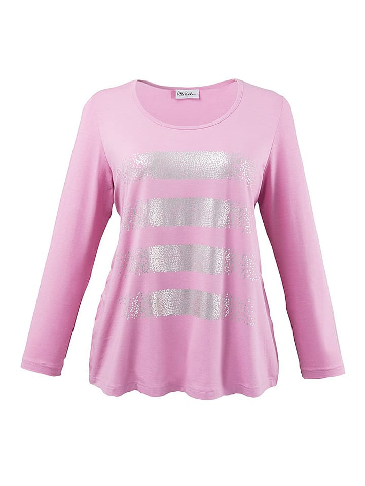 Ulla Popken Shirt in Rosa