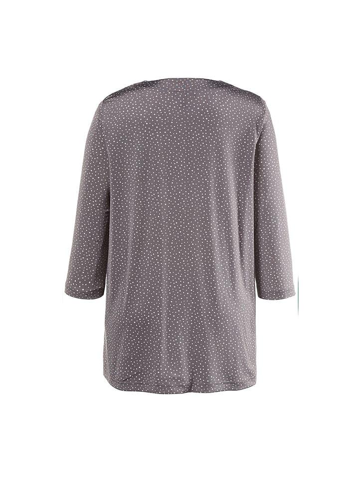 Ulla Popken Shirt in Grau