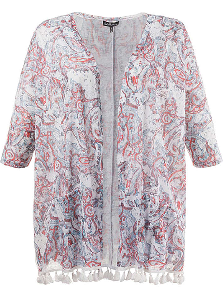 Ulla Popken Kimono in Bunt