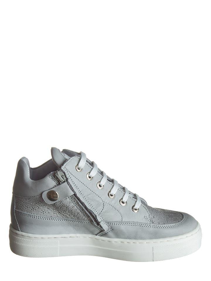 BO-BELL Leder-Sneakers in Grau - 64% DBpuWi3c