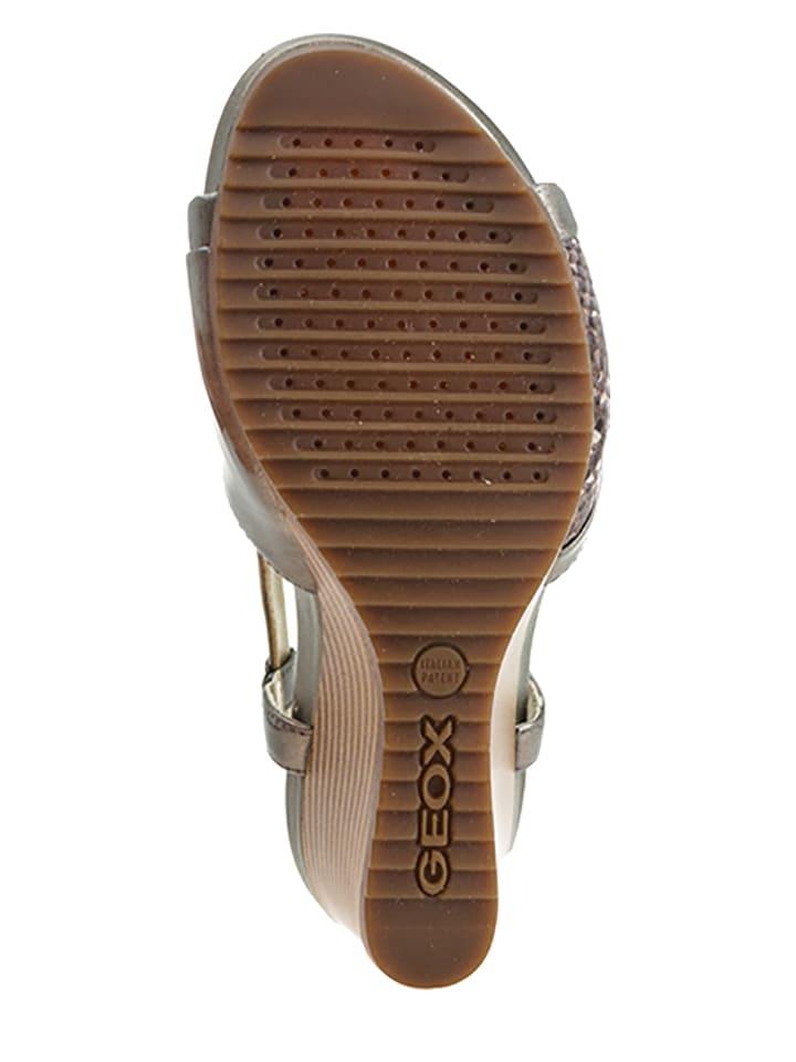"""Geox Sandaletten """"New Rorie"""" in Braun"""