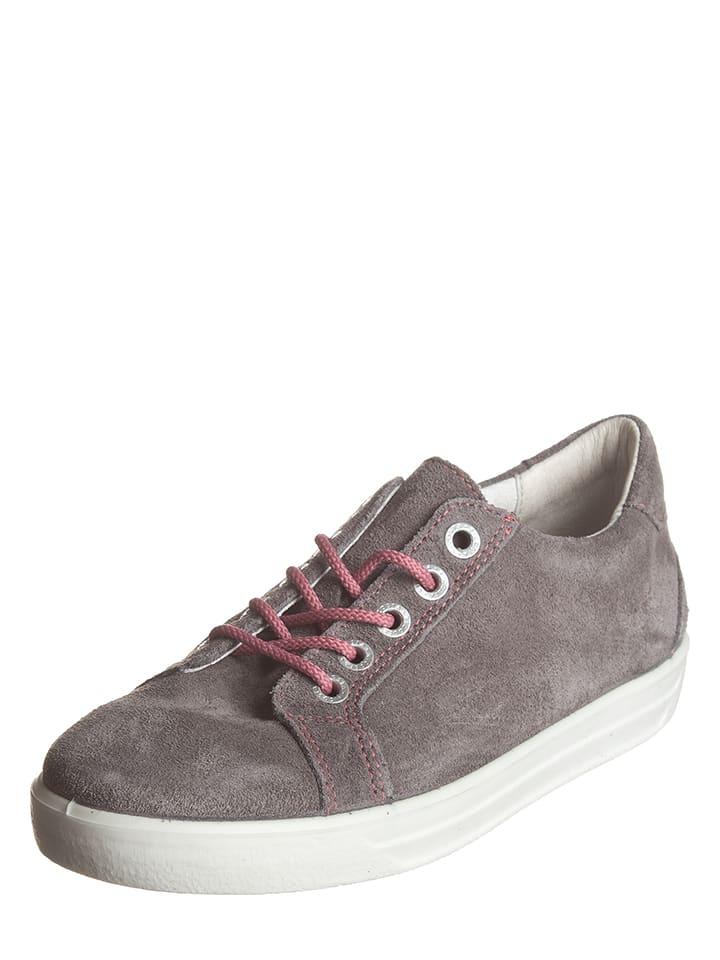 Ricosta Leder-Sneakers Julie in Grau - 60% Et1z2CqqY