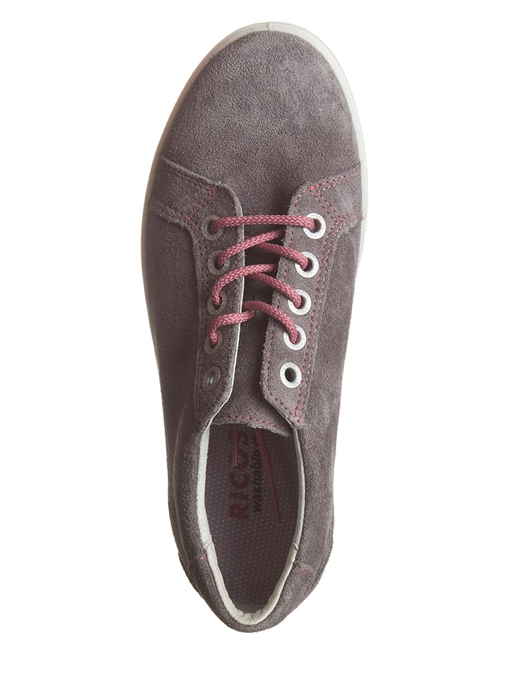Ricosta Leder-Sneakers Julie in Grau